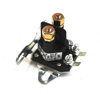 Starter Solenoid (4) Pole (all GGP models) Ride on Mowers | Mower Parts